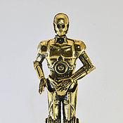 Сувениры и подарки ручной работы. Ярмарка Мастеров - ручная работа C3PO - Робот из Звёздных Войн. Handmade.