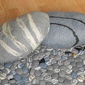 Для дома и интерьера ручной работы. Ярмарка Мастеров - ручная работа подушки -камни. Handmade.