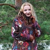 Войлок ручной работы. Ярмарка Мастеров - ручная работа Войлок: Видео МК по созданию нуно-войлочного пальто. Handmade.