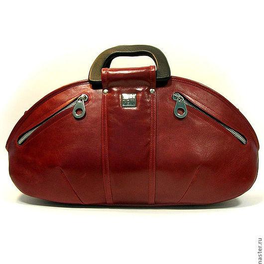 """Женские сумки ручной работы. Ярмарка Мастеров - ручная работа. Купить Повседневная сумка """"Scroll red"""". Handmade. Ярко-красный"""
