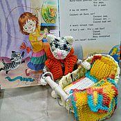 Куклы и игрушки ручной работы. Ярмарка Мастеров - ручная работа Кот. Усатый-полосатый .Подарок. Handmade.