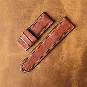 Украшения handmade. Livemaster - original item Calf leather watchband (30). Handmade.