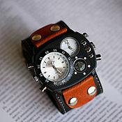 Украшения handmade. Livemaster - original item watches: Brutal Brown. Handmade.
