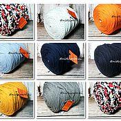 Материалы для творчества handmade. Livemaster - original item Knitted yarn - ribbon assortment (Russia). Handmade.