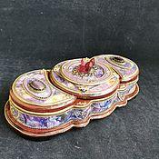 Для дома и интерьера handmade. Livemaster - original item Jewelry box ,,scheherezade, that box triple. Handmade.