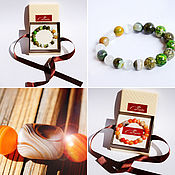 Фен-шуй и эзотерика handmade. Livemaster - original item Special order for an energy bracelet made of stones according to the horoscope. Handmade.