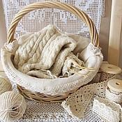 Для дома и интерьера ручной работы. Ярмарка Мастеров - ручная работа Корзинка для рукоделия. Handmade.