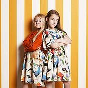 """Платья ручной работы. Ярмарка Мастеров - ручная работа Платье """"Juicy Orange"""". Handmade."""