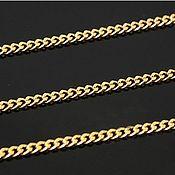 Материалы для творчества handmade. Livemaster - original item 50 smapi thin 1,8 mm gold-plated th. Korea (2557). Handmade.