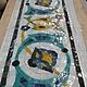 Декор поверхностей ручной работы. Ярмарка Мастеров - ручная работа. Купить Мозаика из  смальты. Handmade. Мозаика из стекла, керамика