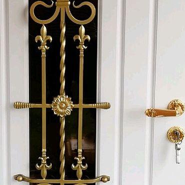 """Для дома и интерьера ручной работы. Ярмарка Мастеров - ручная работа Дверь стальная """"Ника"""". Handmade."""