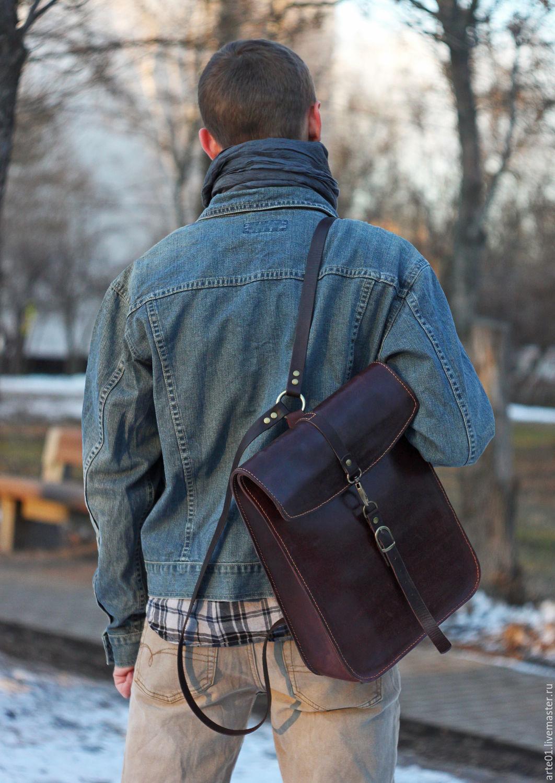Рюкзаки из натуральной кожи мужские итальянские чемоданы dielle отзывы