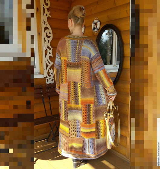"""Верхняя одежда ручной работы. Ярмарка Мастеров - ручная работа. Купить Пальто """"Жозефина"""". Handmade. Комбинированный, пальто женское"""