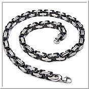 Украшения handmade. Livemaster - original item Chain steel no. 2 Length 61 cm.. Handmade.