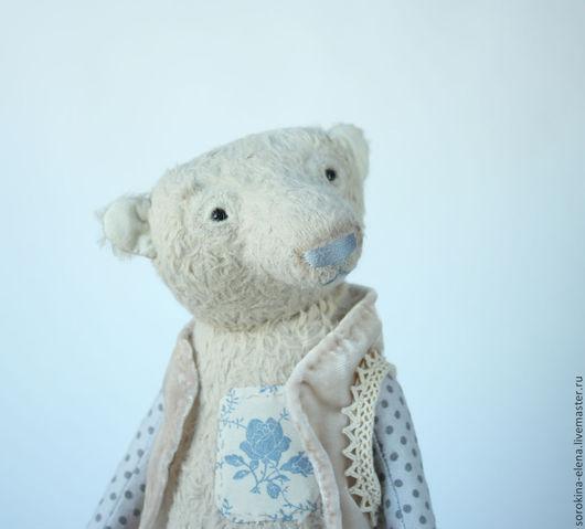 Мишки Тедди ручной работы. Ярмарка Мастеров - ручная работа. Купить Мистер К. Handmade. Бежевый, вискоза