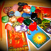 Pendulum handmade. Livemaster - original item Shamanic divination by gems ( semiprecious stones), recruitment. Handmade.