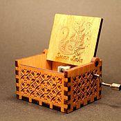 Подарки к праздникам handmade. Livemaster - original item Music box
