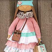 Куклы и игрушки ручной работы. Ярмарка Мастеров - ручная работа Девочка с подарками.. Handmade.