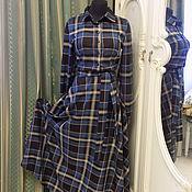 Одежда ручной работы. Ярмарка Мастеров - ручная работа Платье на осень. Handmade.