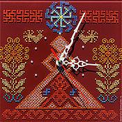 Для дома и интерьера ручной работы. Ярмарка Мастеров - ручная работа Часы- оберег Рожаница. Handmade.