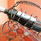 Vintage interior handmade. Livemaster - original item Vintage bottle holders Originale copper Farance. Handmade.