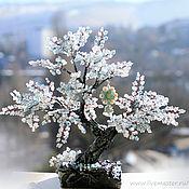 Цветы и флористика ручной работы. Ярмарка Мастеров - ручная работа Снежный бонсай. Handmade.
