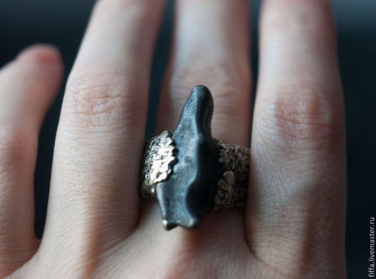 Кольца ручной работы. Ярмарка Мастеров - ручная работа. Купить Кольцо. Степной Волк. Handmade. Серебряный, перстень