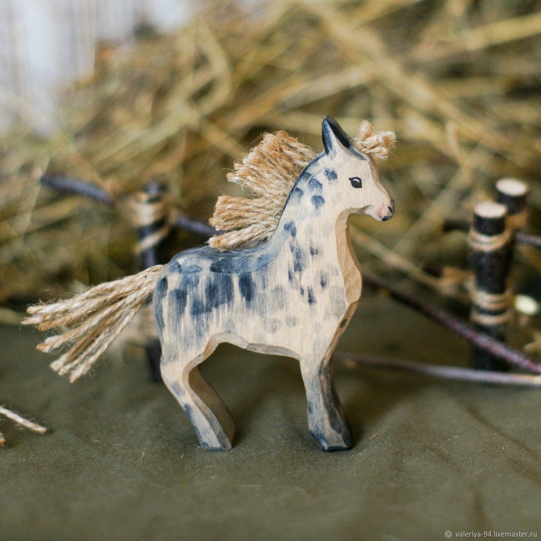 Лошадка в яблоках, Вальдорфские куклы и звери, Суоярви,  Фото №1