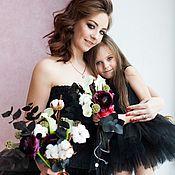 Одежда ручной работы. Ярмарка Мастеров - ручная работа юбки-пачки для мамы и дочки. Handmade.