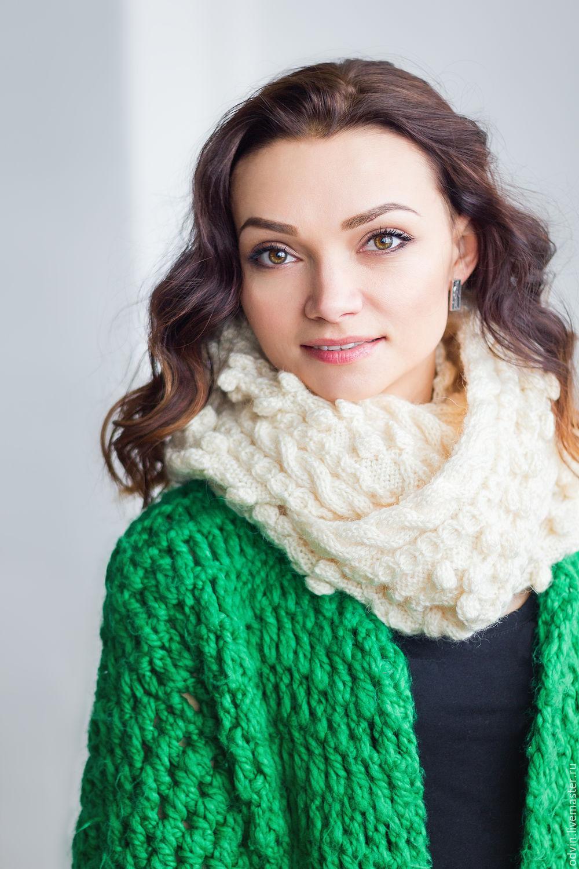 Шарф снуд – круговой шарф-хомут в 2019 году