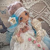 Куклы и игрушки ручной работы. Ярмарка Мастеров - ручная работа София, коллекционная авторская текстильная кукла.. Handmade.