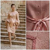 """Одежда ручной работы. Ярмарка Мастеров - ручная работа Костюм """"Розовый жемчуг"""". Handmade."""