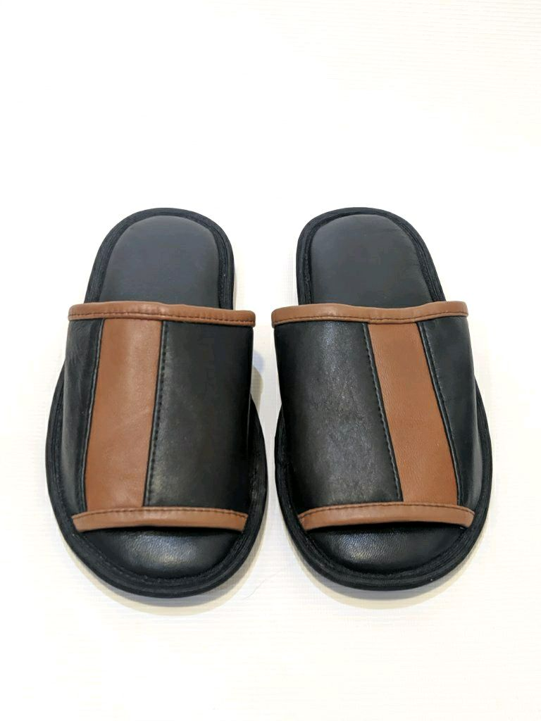 Men's Slippers made of genuine leather, Slippers, Nalchik,  Фото №1