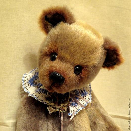 Мишки Тедди ручной работы. Ярмарка Мастеров - ручная работа. Купить Масяня. Handmade. Мишка тедди, коричневый, глаза стеклянные