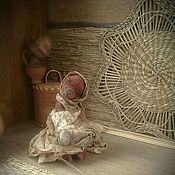 """Куклы и игрушки ручной работы. Ярмарка Мастеров - ручная работа """"Нюша"""" мишка-примитив,  сувенир на Пасху, 12,5см.. Handmade."""