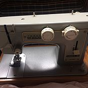 Винтаж ручной работы. Ярмарка Мастеров - ручная работа Швейная машинка Чайка 3 рабочая. Handmade.
