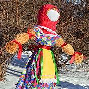 Народная кукла ручной работы. Ярмарка Мастеров - ручная работа Чучело на Масленицу. Handmade.