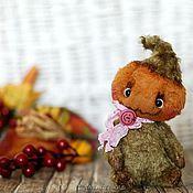 Куклы и игрушки ручной работы. Ярмарка Мастеров - ручная работа Тыковки-малыши тедди. Тыква Pumpkin Хэллоуин. Handmade.