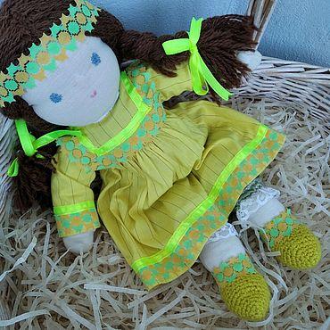 Куклы и игрушки ручной работы. Ярмарка Мастеров - ручная работа Вальдорфская кукла 39см.. Handmade.