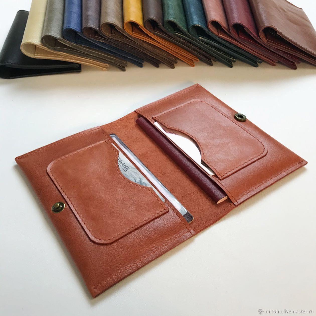 Organizer for documents made of genuine leather, Purse, Armavir,  Фото №1