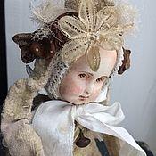 """Куклы и игрушки ручной работы. Ярмарка Мастеров - ручная работа Тедди-долл """"лайт """"- СЬЮ.. Handmade."""