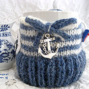 Для дома и интерьера handmade. Livemaster - original item Hot water bottle for a Cup and a Cup