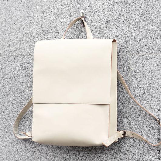Рюкзаки ручной работы. Ярмарка Мастеров - ручная работа. Купить Рюкзак GoTravel Lady Latte 3.0. Handmade. Бежевый