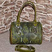 handmade. Livemaster - original item Compact genuine leather bag Model 30. Handmade.
