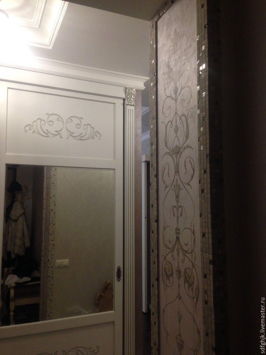 Роспись входного портала, Двери, Москва, Фото №1