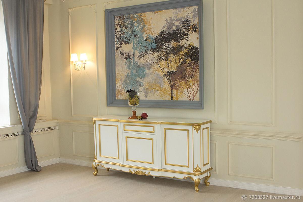 Cómoda con el dorado de la rosca, Dressers, Moscow,  Фото №1