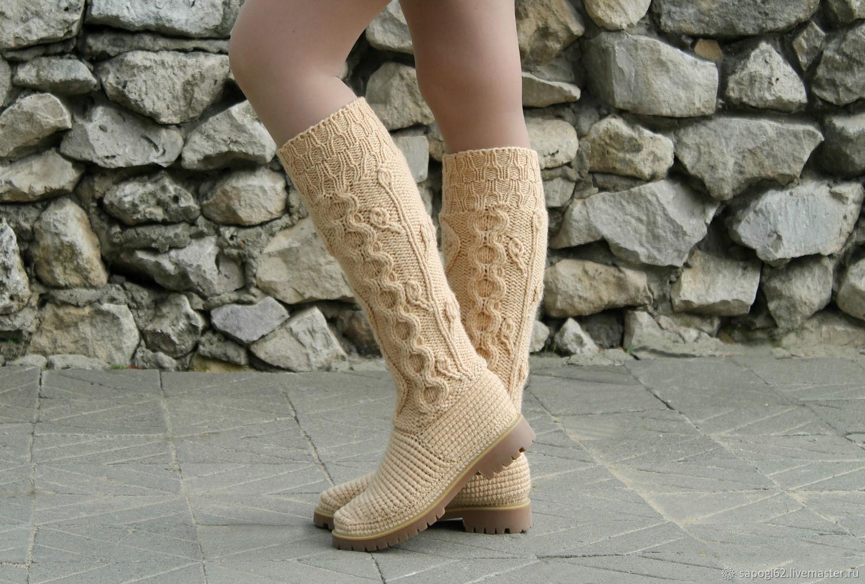Demi-season boots ' Alena', High Boots, Ryazan,  Фото №1