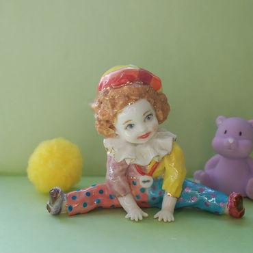 Для дома и интерьера ручной работы. Ярмарка Мастеров - ручная работа Малыш.Фарфоровая статуэтка. Handmade.