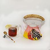 Посуда ручной работы. Ярмарка Мастеров - ручная работа Чайник, красивой, необычной формы.. Handmade.