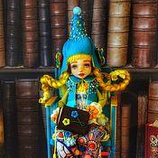 Шарнирная кукла ручной работы. Ярмарка Мастеров - ручная работа ООАК. Варвара. Шарнирная кукла. Авторская. Handmade.